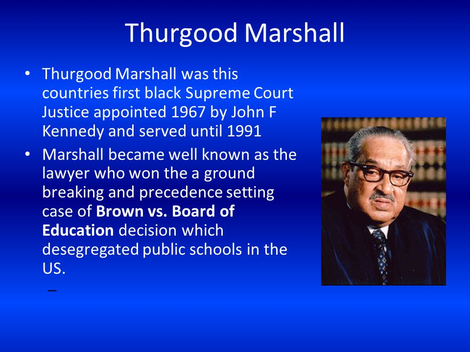 Image result for thurgood marshall confirmed as first black supreme justice