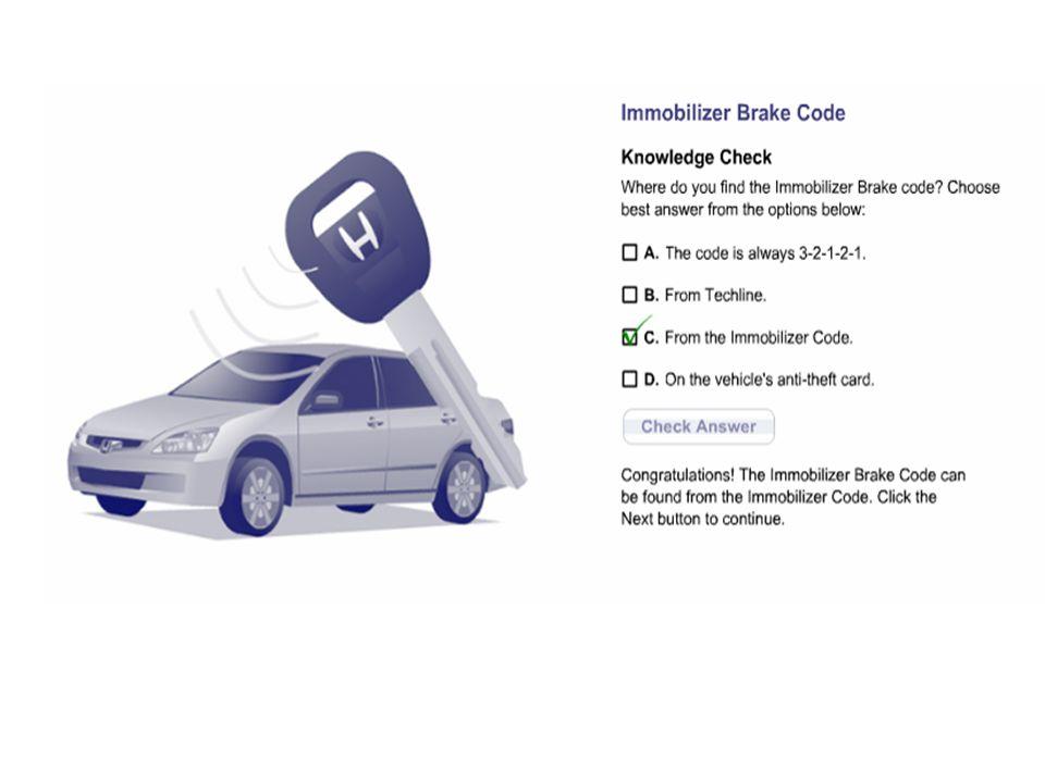 Honda Immobilizer  - ppt video online download