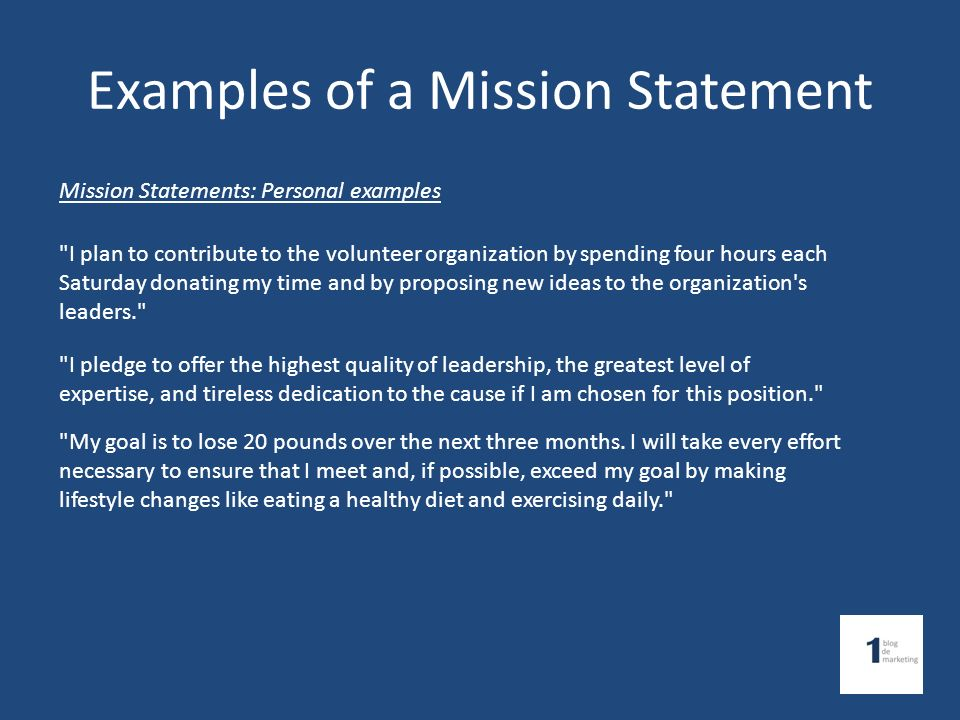 Defining Business Mission and Vision Setting Goals & Objectives ...
