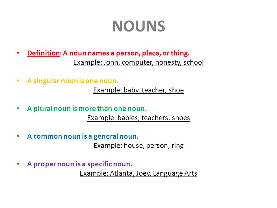 What are nouns? Definition, types & examples video & lesson.