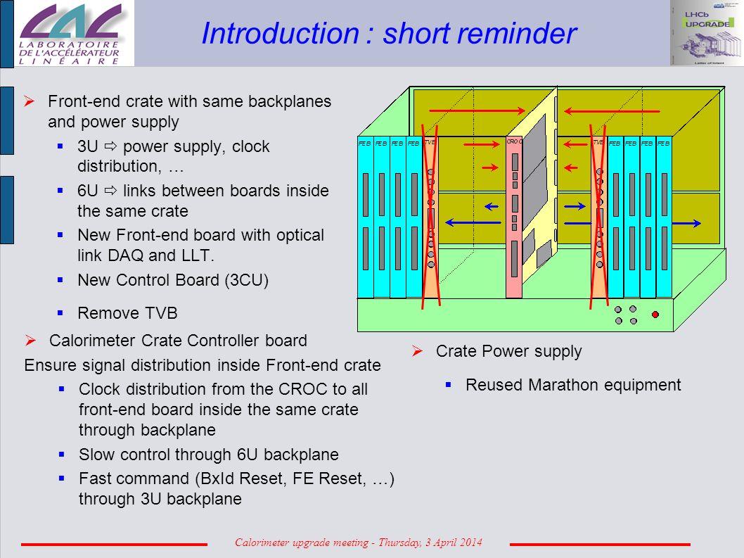 Calorimeter Upgrade Meeting Thursday 3 April Cu Circuit Diagram Of Mpl Laser Diode Driver 2