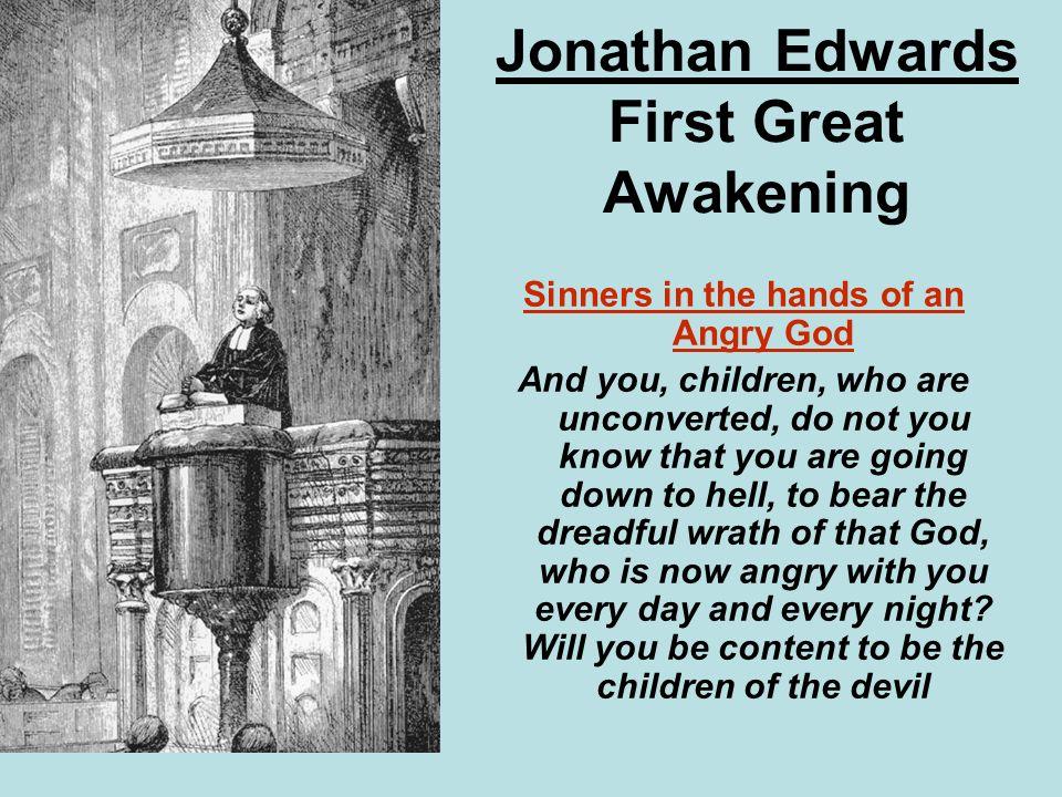the 1st great awakening