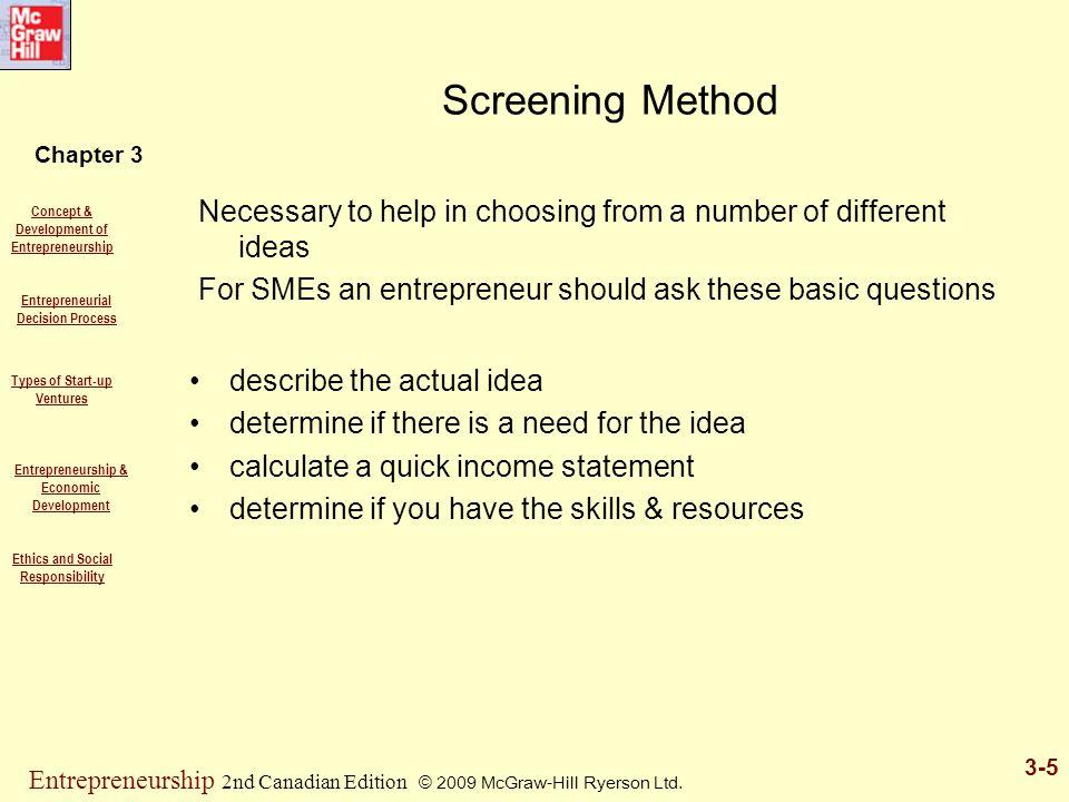 Chapter 3 Concept & Development of Entrepreneurship Entrepreneurial