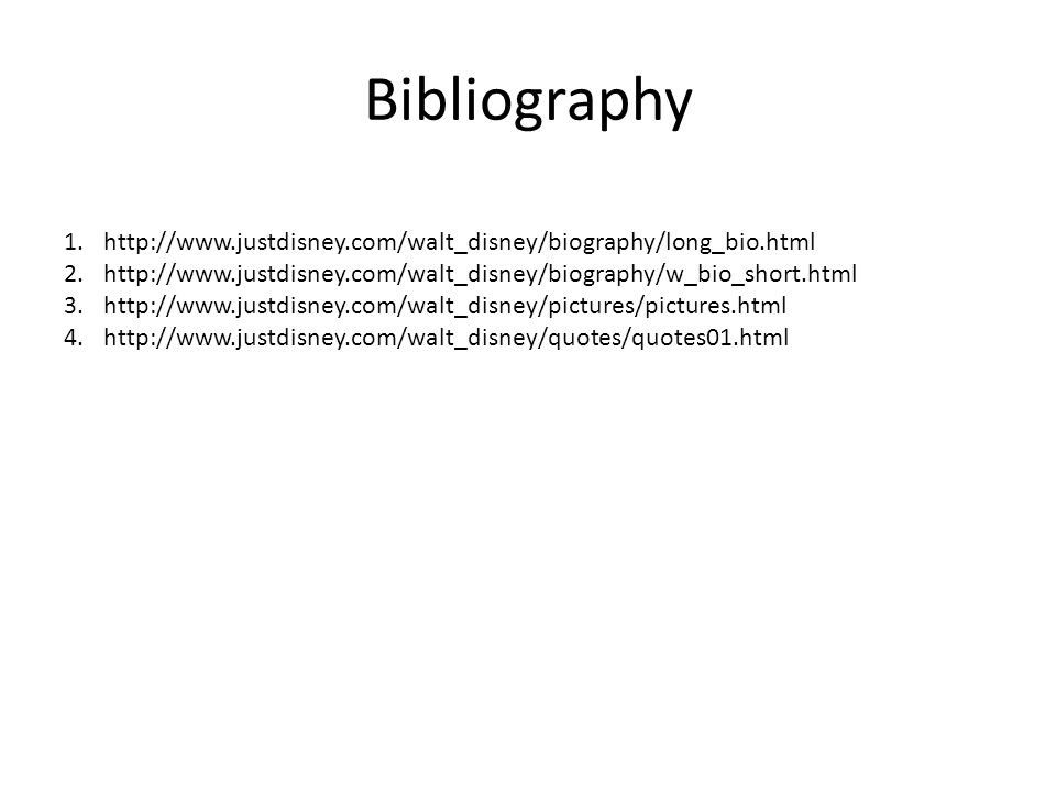justdisney com biography