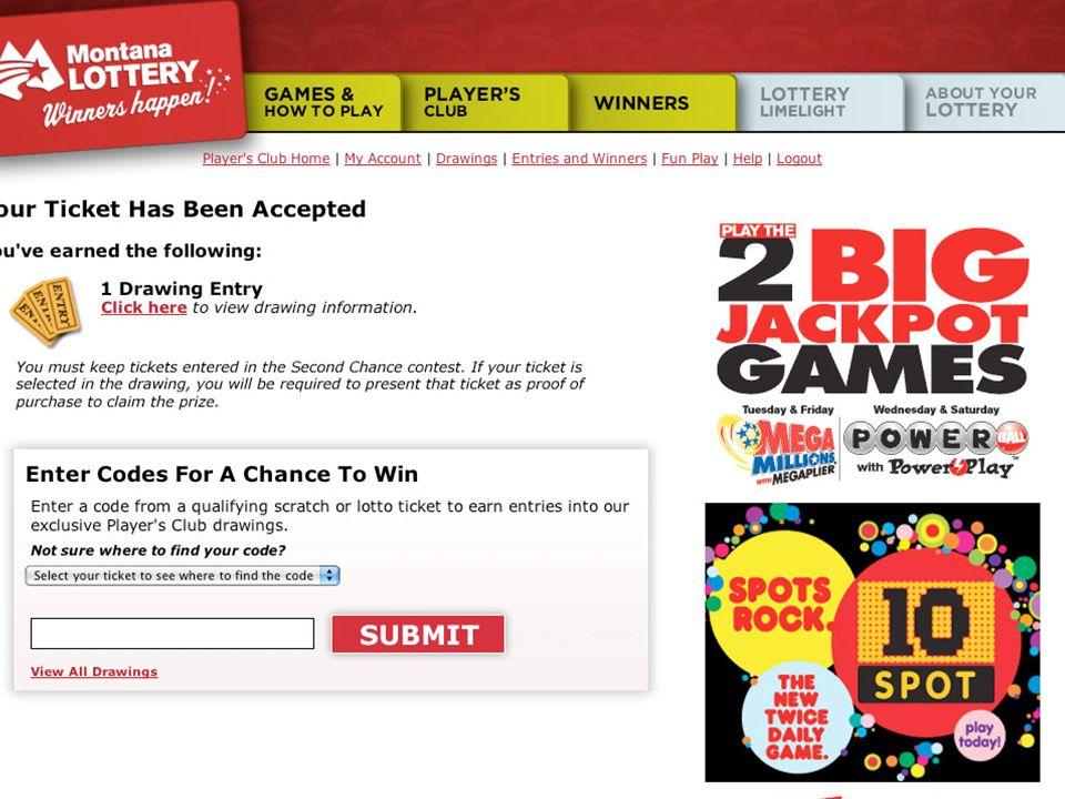 Rewarding Players: Montana's Online Player Loyalty Program  - ppt