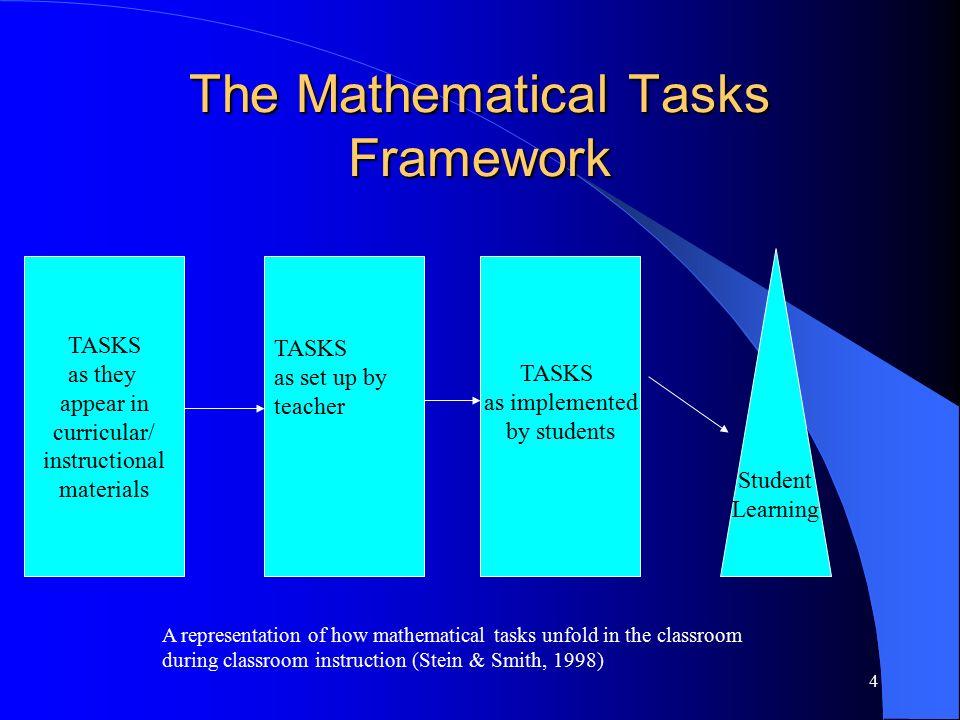 1 Math 413 Mathematics Tasks For Cognitive Instruction October Ppt