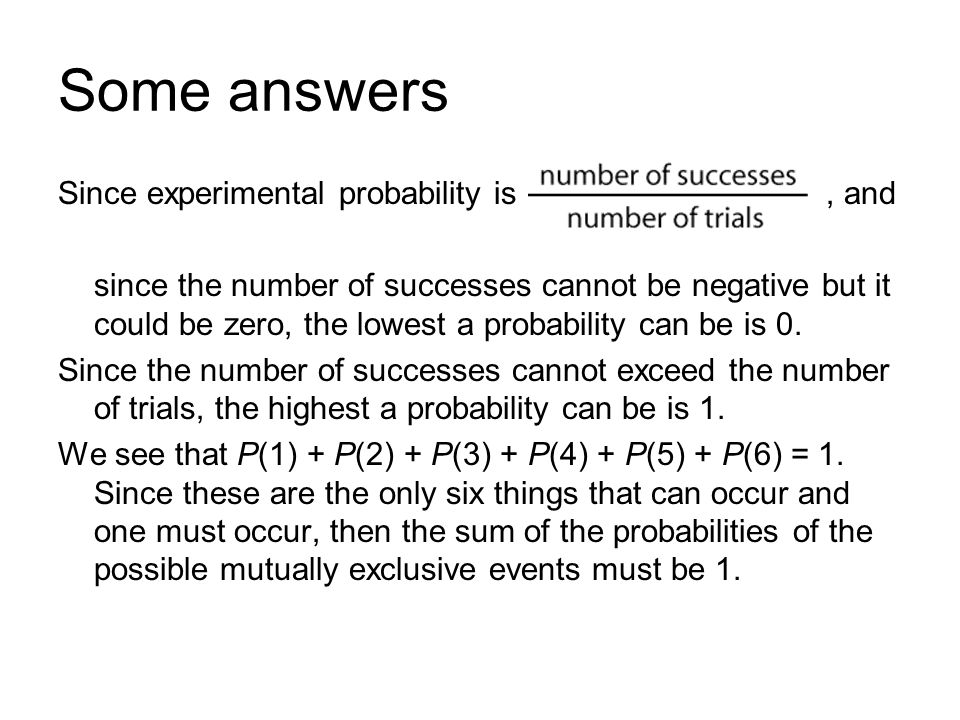 Probability Section 7.1. What is probability? Probability discusses ...
