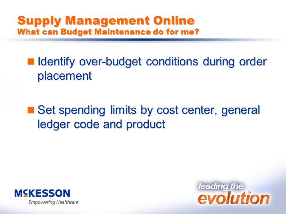 supply management online budget management supply management online