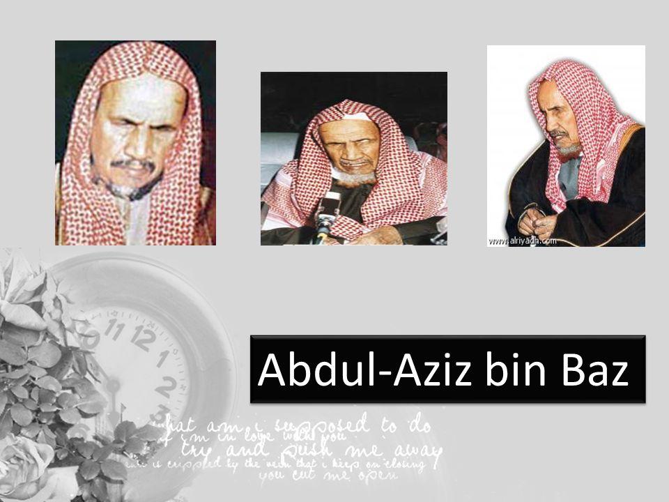 3 Abdul Aziz Bin Baz
