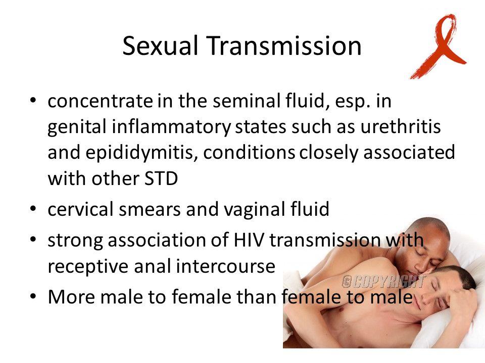 Anal receptive intercourse