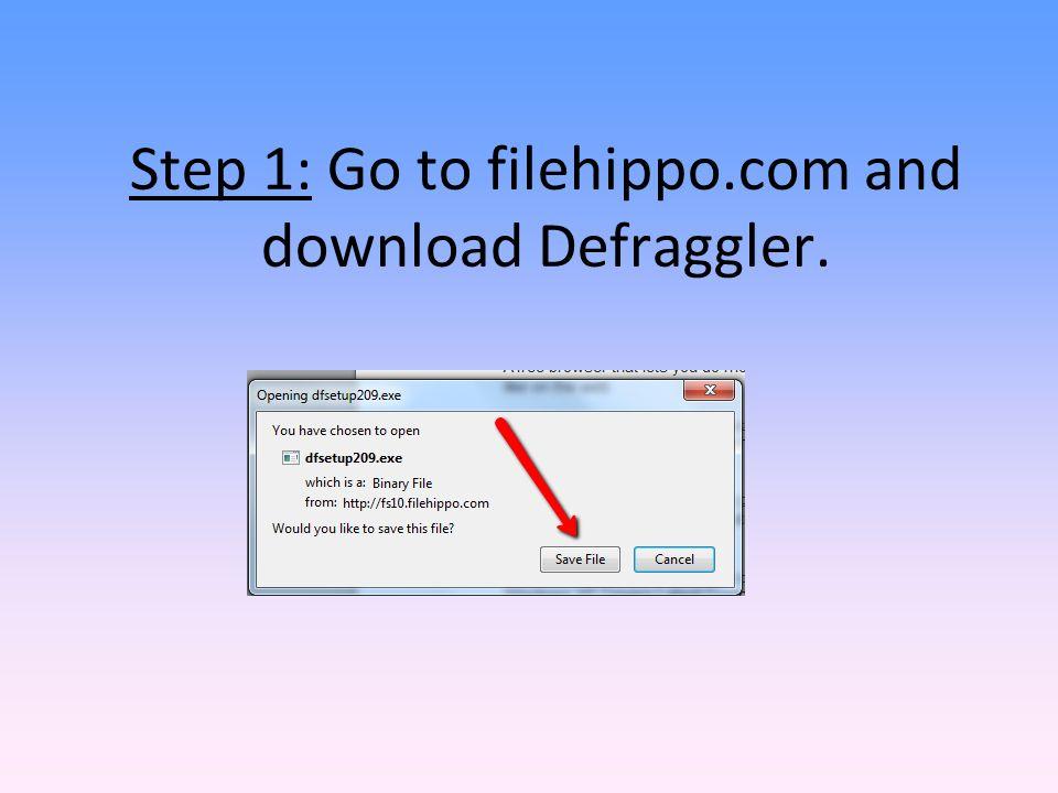 Www filehippo com defraggler