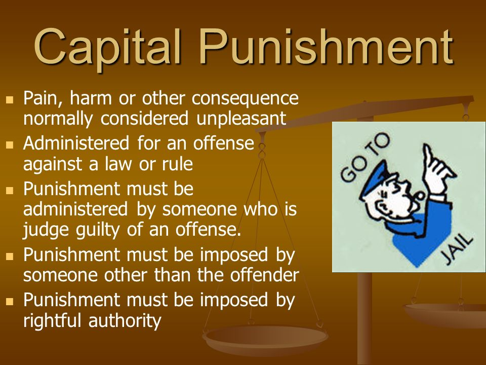 capital punishment ethical considerations Capital punishment is often defended on the grounds that society has a moral obligation to protect the safety and welfare of its citizens murderers threaten this safety and welfare only by putting murderers to death can society ensure that convicted killers do not kill again.