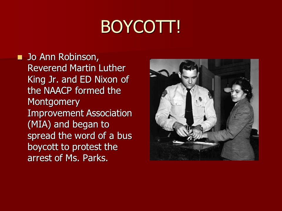 The Montgomery Bus Boycott December 1955 The Story Of The Boycott