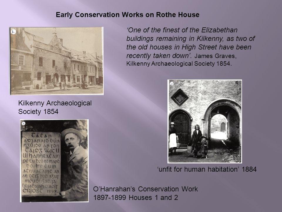 Rothe House & Garden  Kilkenny Archaeological Society 1854