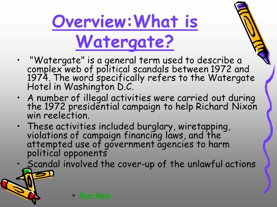 creep watergate scandal