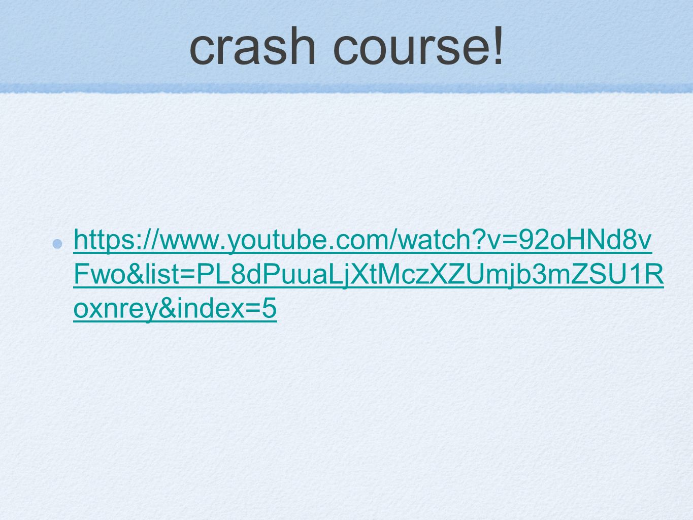 Crash course relative dating and absolute