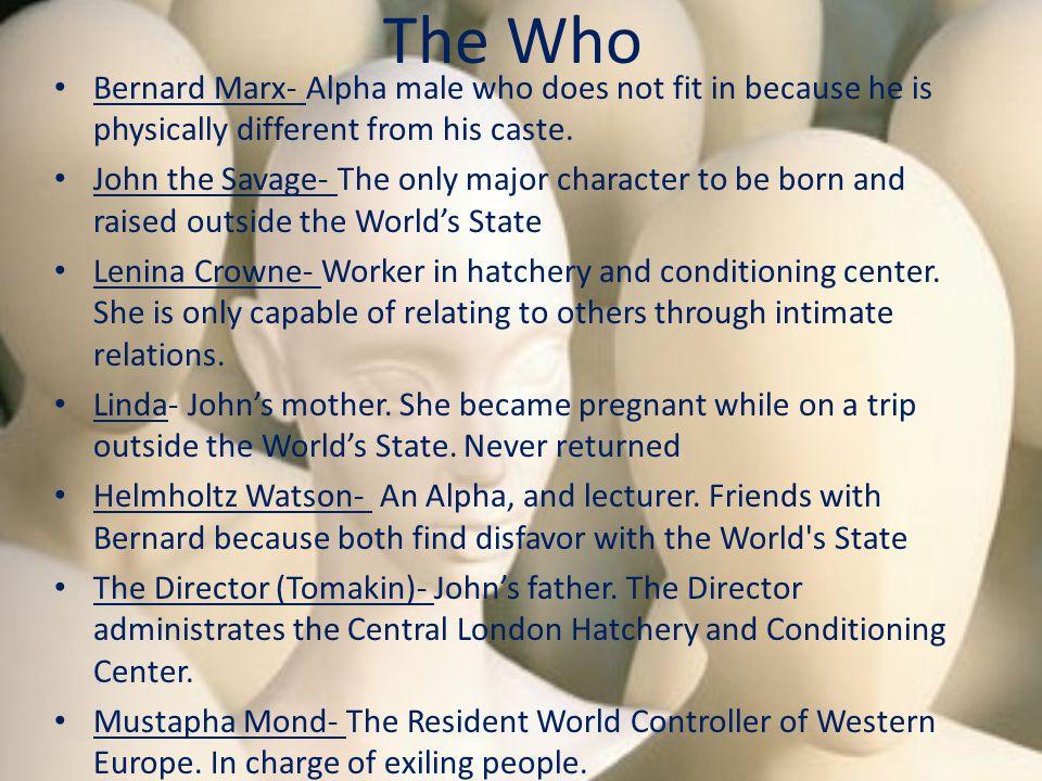 who is bernard marx