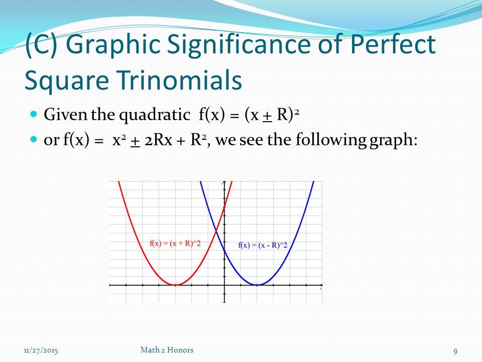 Perfect Square Trinomials Diagram Block And Schematic Diagrams