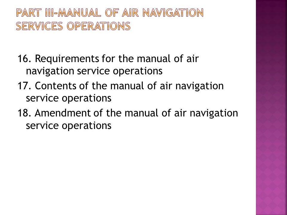 ARRANGEMENT OF REGULATIONS PART I PRELIMINARY 1