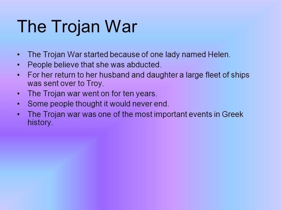 By Ben Class 3kf The Trojan Horse The Trojan Horse Is A Huge