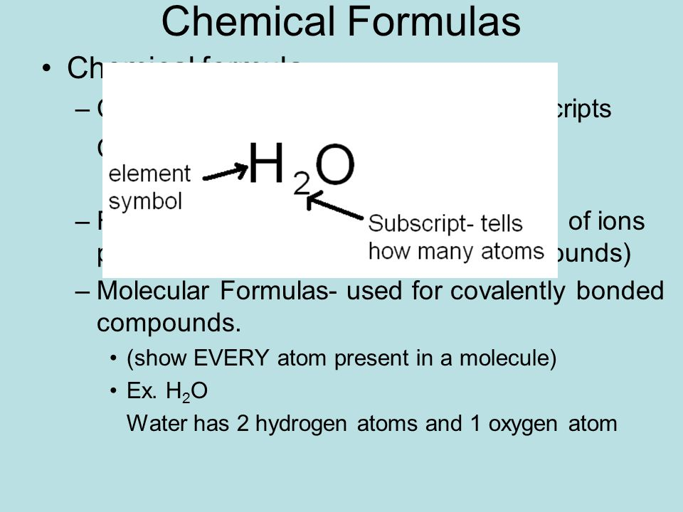 Ch 7 Cont Formula Writing Naming Of Compounds Ppt Download