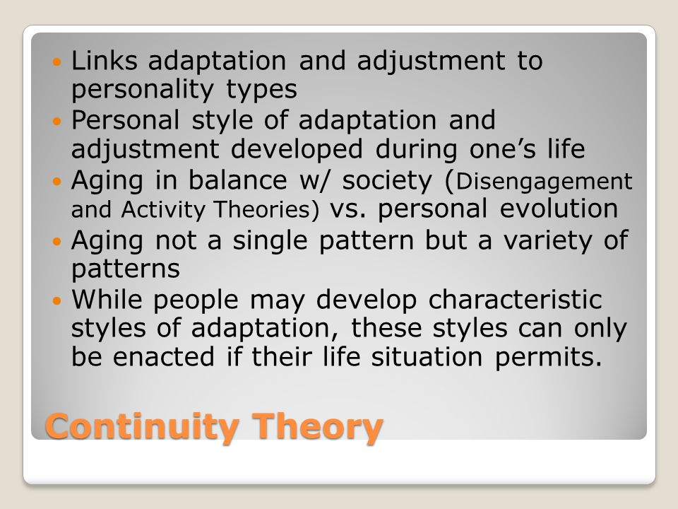 personal perspective on aging essay The theory further suggests that a person's personal concept is  perspective of life from a more  essay-examples/theories-of-aging-and.