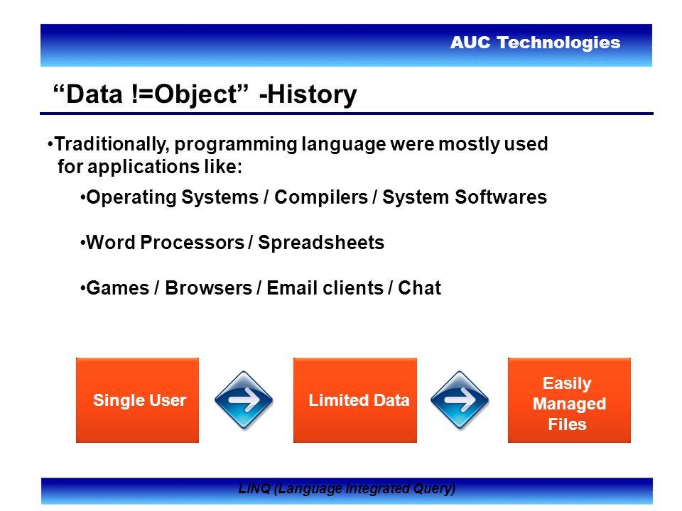 AUC Technologies LINQ (Languag...
