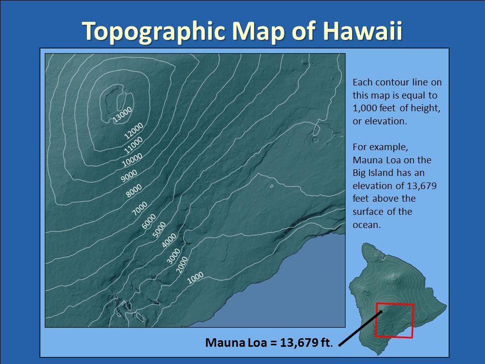 Bathymetric Map Of Oahu Bathymetric Map Of Hawaii Ppt Download