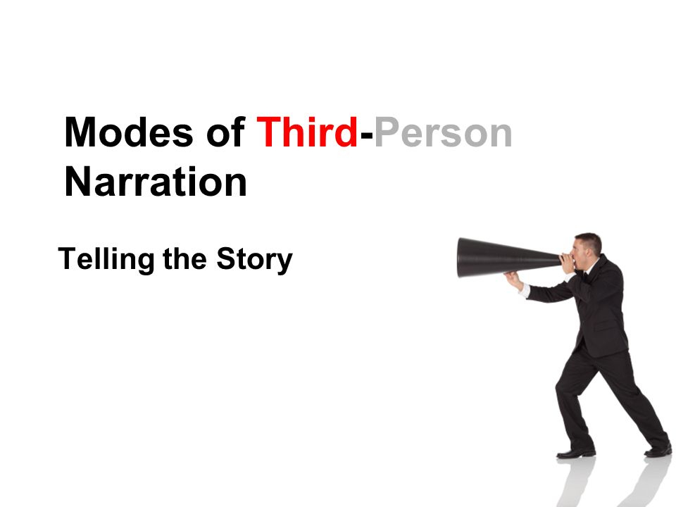 Modes of Third-Person Narration Telling the Story
