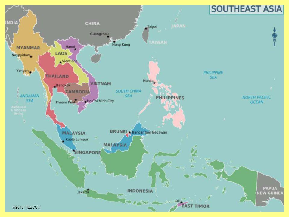 Indonesia Thailand Map.Southeast Asia Countries Vietnam Laos Cambodia Thailand Myanmar
