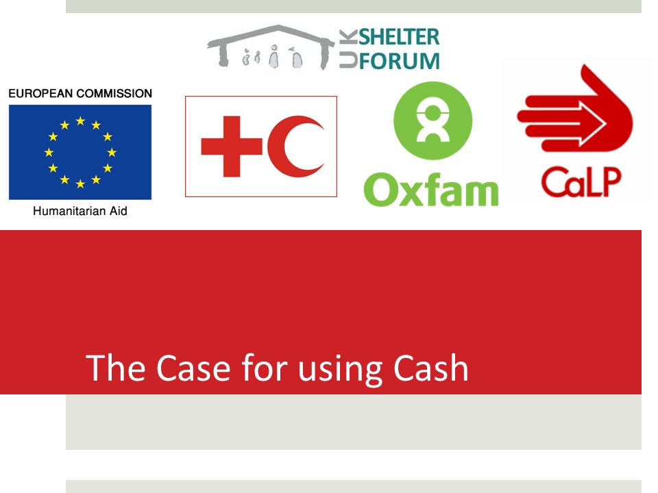 the case for using cash aim to present the case for considering rh slideplayer com