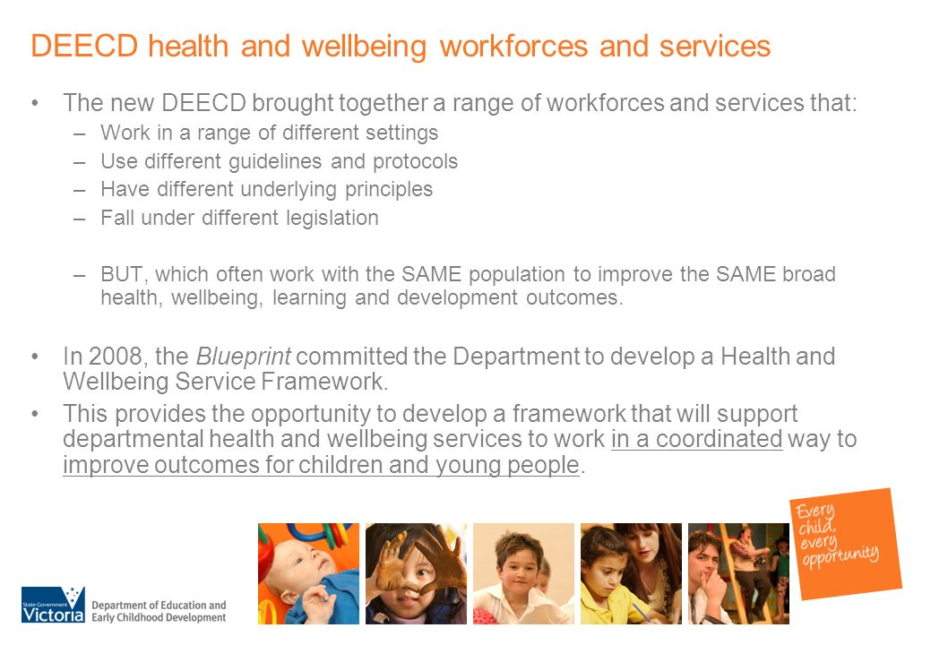 Towards a health and wellbeing service framework a discussion paper 6 deecd malvernweather