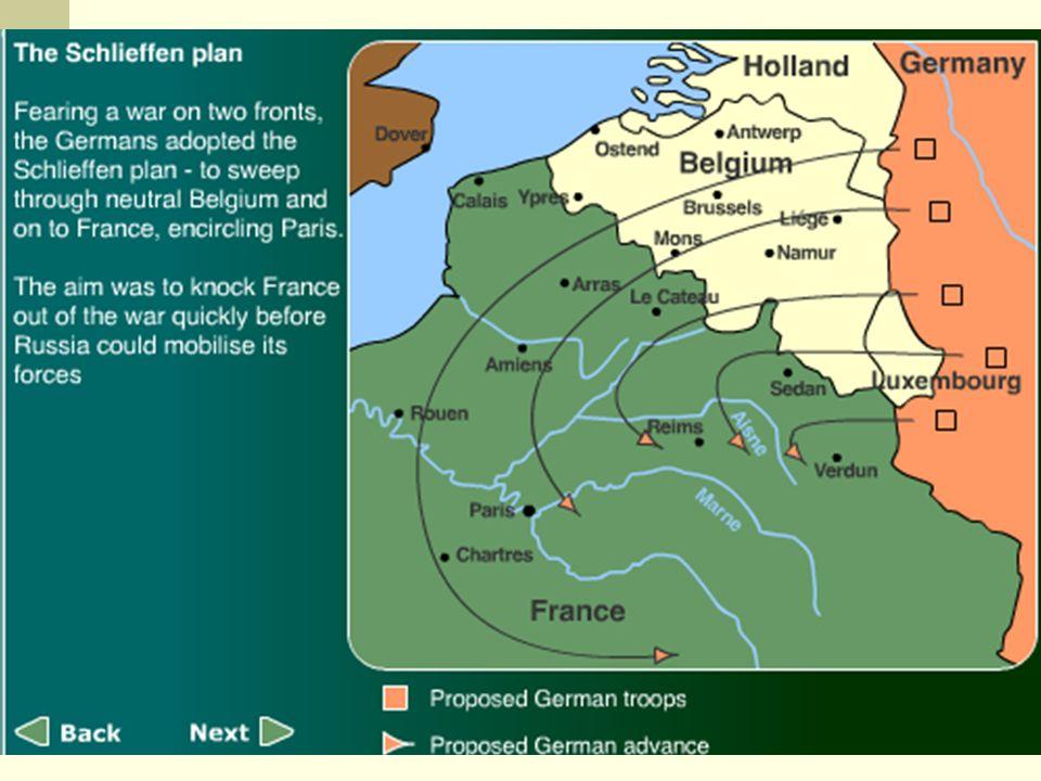 an analysis of general alfred von schlieffens plan for war in europe Europe plunges into war  a battle strategy known as the schlieffen plan, named after its designer, general alfred graf von schlieffen (shlee•fuhn) the plan.