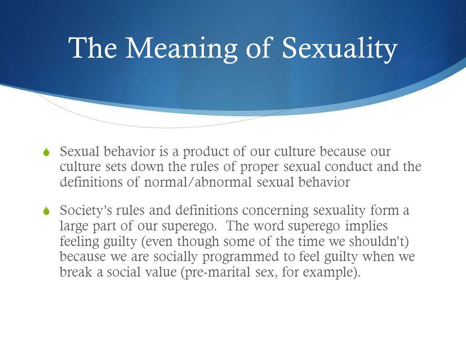 Critics about psychoanalysis and sexuality