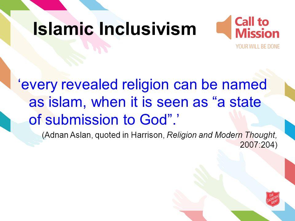 religious pluralism in christian and islamic philosophy aslan adnan