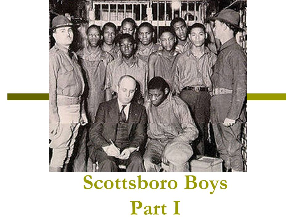 the scottsboro boys and the court s The scottsboro boys with defense attorney samuel leibowitz in the decatur, alabama, jail (1933) after the us supreme court overrode the lower court's verdict in 1932 on grounds of inadequate counsel, circuit judge james e horton was appointed to preside over a new set of trials in decatur.