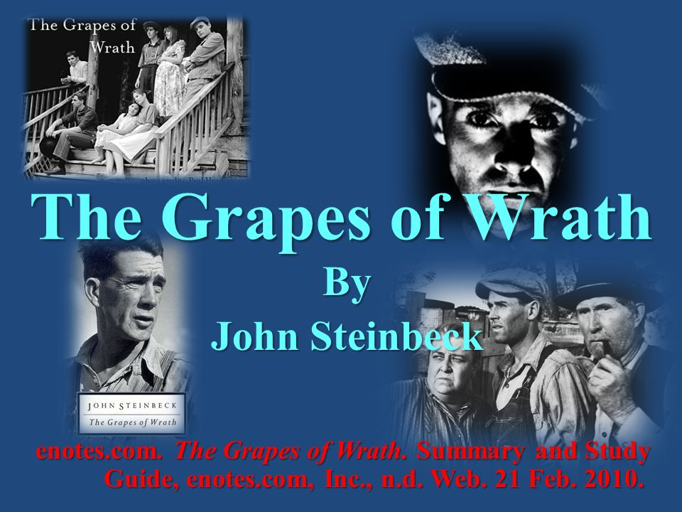 grapes wrath economic analysis The grapes of wrath, written by john steinbeck, is a story of hardship and the joad family's struggle for a more sufficient life it is a novel that depicts the journey of the archetypal hero through the joad family.