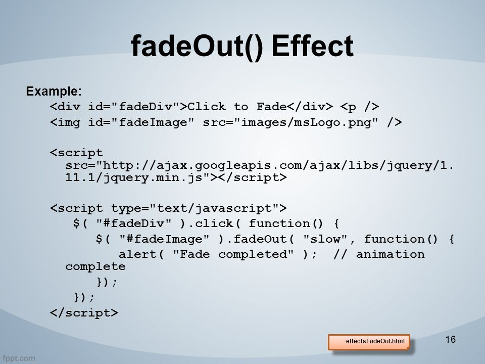 JQuery Introduction © Copyright 2014, Fred McClurg All