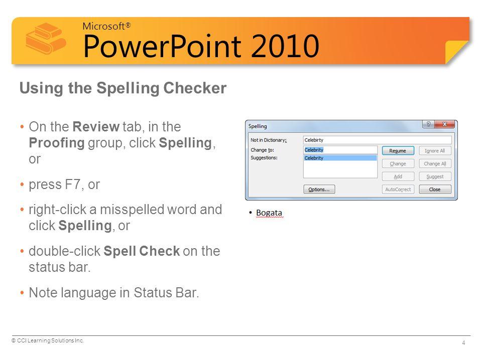 microsoft office word 2010 tutorial ppt