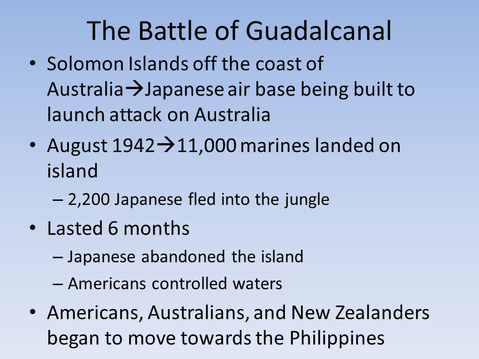 Image result for the battle of guadalcanal began