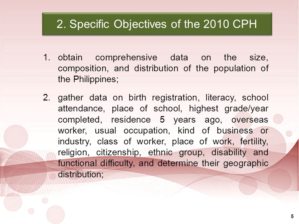 National Statistics Office Republic of the Philippines  - ppt download