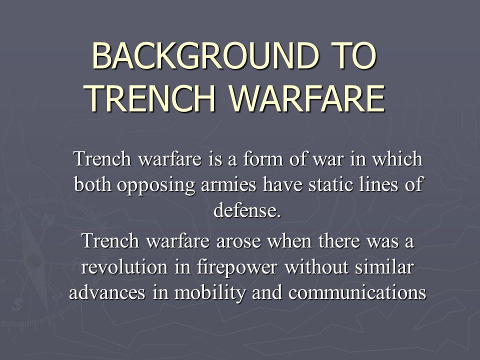 static warfare