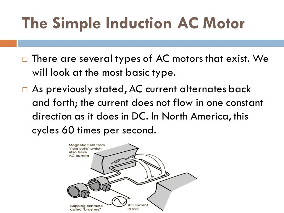 ELECTRIC MOTORS Lesson 11. The motor principle  Michael Faraday ...