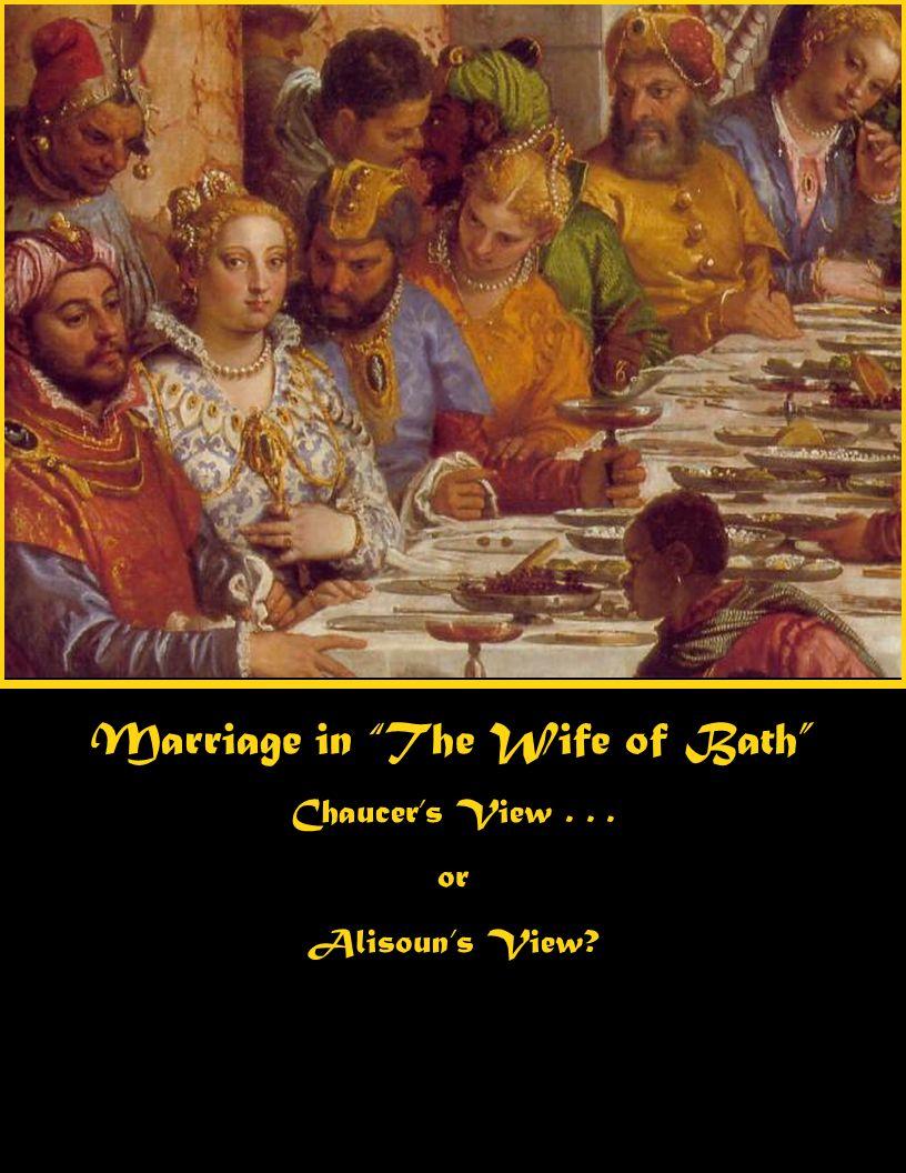wife of bath marriage