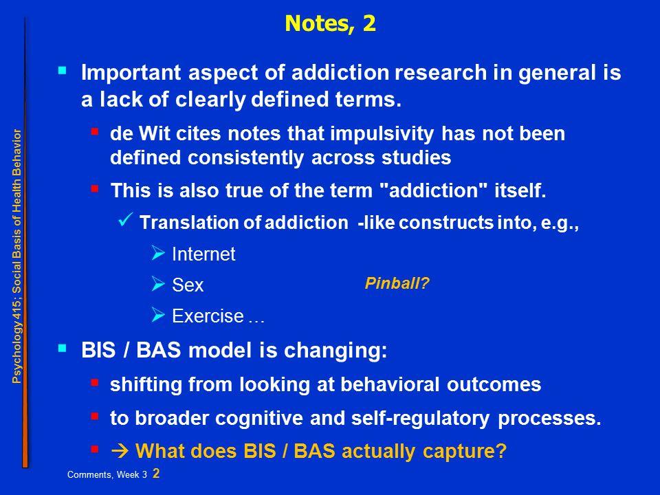 Psychology 415