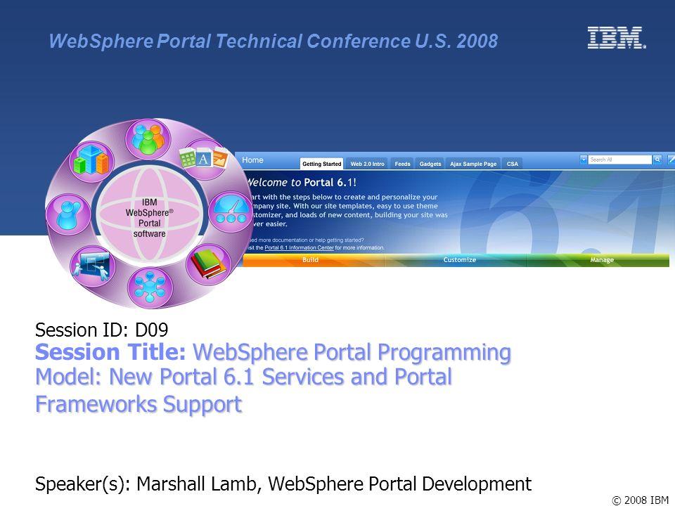 Ibm websphere portal roadmap ppt video online download.