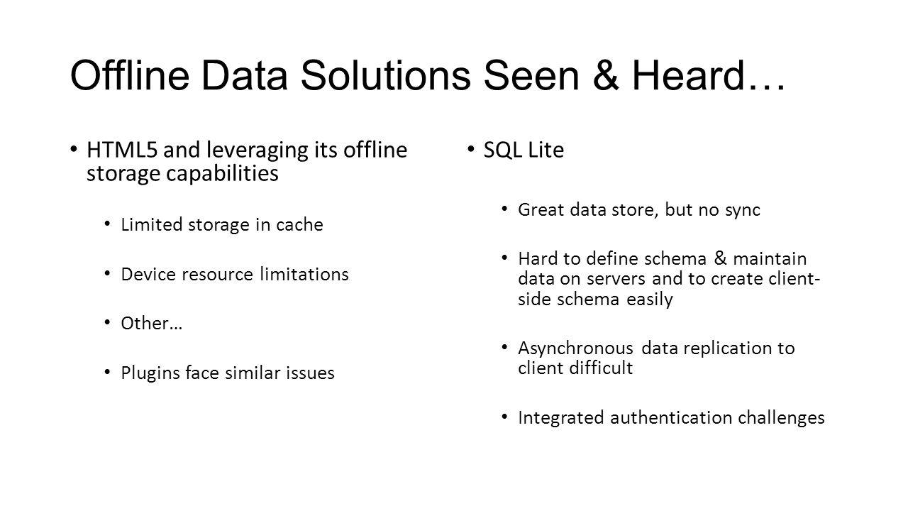 No Connectivity? No Problem: Offline Mobile Data Solutions