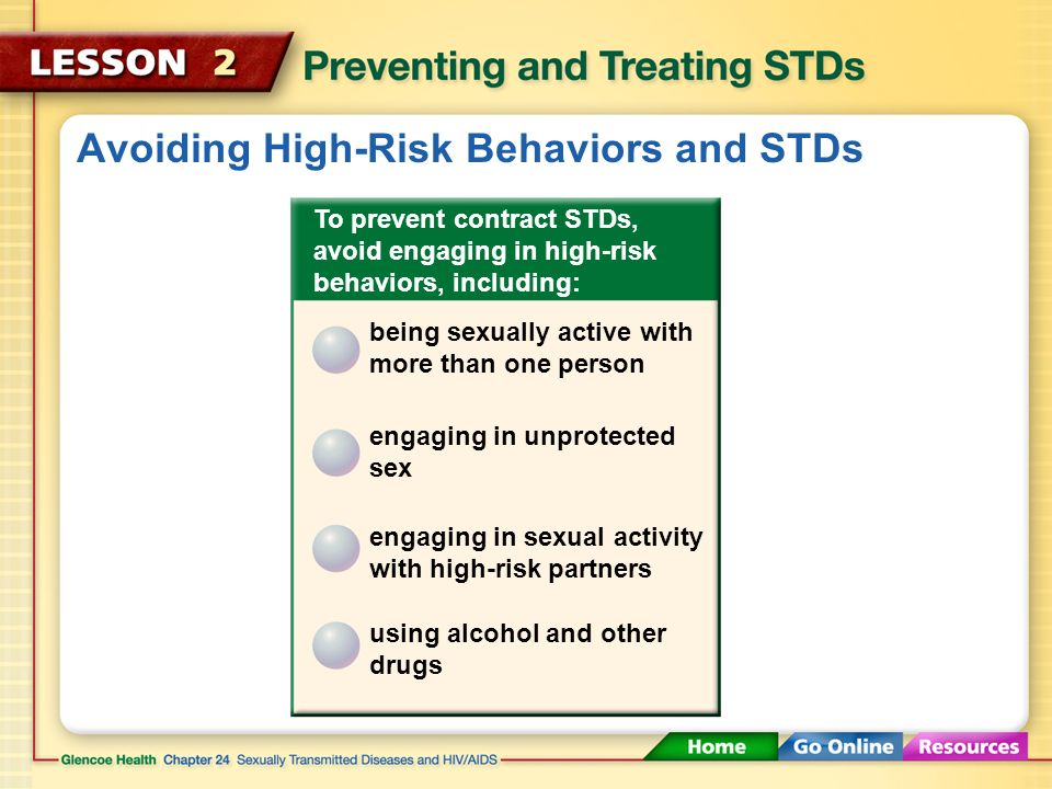 Chapter 24 sexually transmitted diseases and hiv/aids treatment