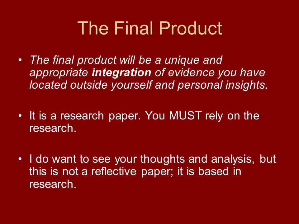 Academic Research Paper Definition