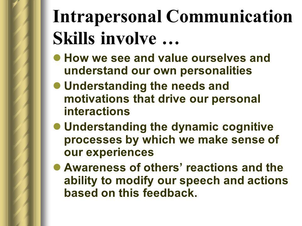 intrapersonal communication skills